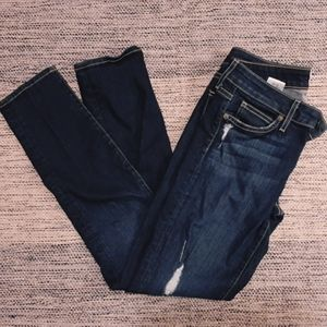 Rich & Skinny Distressed Skinny Jeans size 26/2